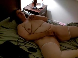nude corpulent wife