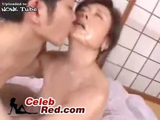 amazed japanese older woman attacked and fucked