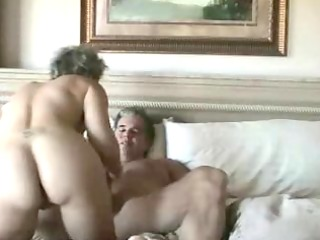 mature wife receives anal penetration and facial