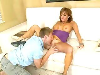 bigtit lalin girl cougar milks a wang