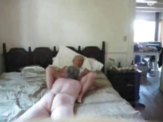 older pair filming him giving his 104 yo wife an