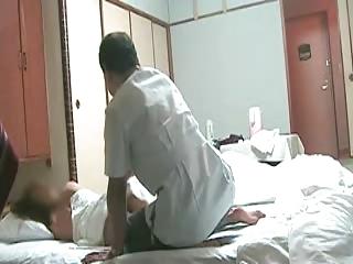 nasty japanese wife needs massage