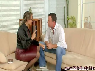 femdom domme rules over ramrod