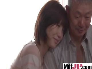 hawt japanese busty hawt milf acquire banged hard