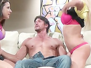 nikita von james and charity bangs some