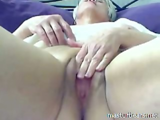 91 years eva solo with my yellow fake penis
