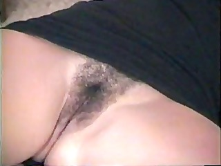 hot amateur cutie shows pussy---home made vid