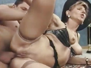 lewd milf takes handsome anal gaping