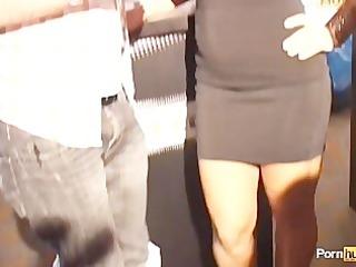 pornhubtv lisa ann interview at 54115 avn awards