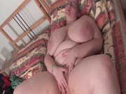 aged big beautiful woman vibrating her lascivious