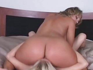 slutty milf have a fun getting her booty licked