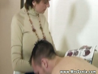 mrs sonia barely acknowledges her mmf subjects