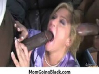 interracial milf porn - slutty mom crave large