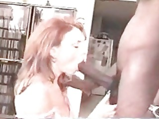 spouse letting redhead wife have a fun