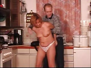 kitchen older fingered spanked &; fuked xlx