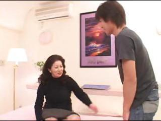 asian milf chizuru iwasaki receives a juvenile