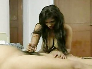short dick desi lad trying to please wife with