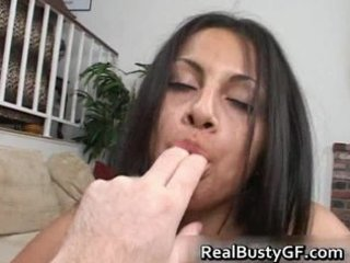 latin chick mommy tit copulates and pounded hard
