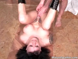 sexy sexy large boobed brunette hair mother i