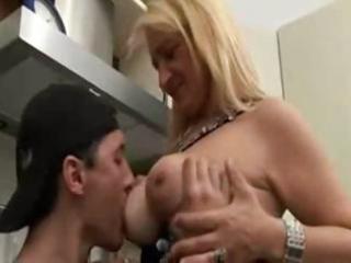 italian mom and son