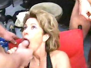 german mature housewife acquires loads of cum on