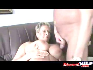 ribald euro granny with glasses gets fucked