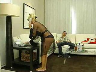 hawt blonde milf copulates a young guy hard