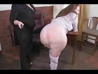 vanilla vixenxxx receives spanked