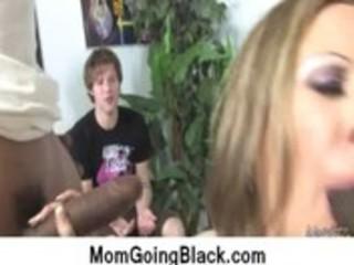 my mom go dark : hardcore interracial clip 7