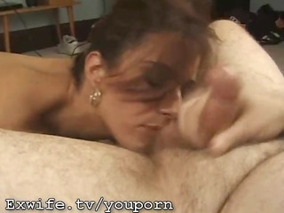 milf gets a biggest cum facial