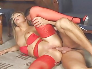 liz honey fucking in stockings