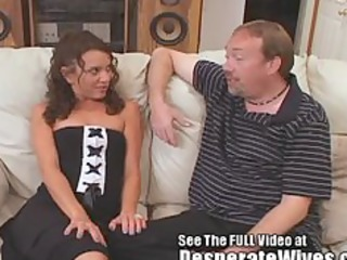 uncomplaining wife slut trained on movie by