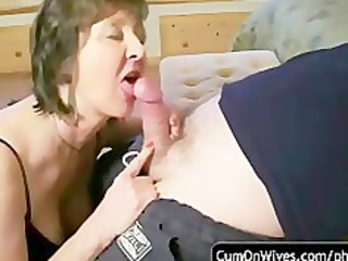 dilettante oral-sex and cumshot compilation