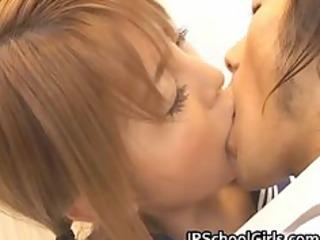 cute japanese school girl momo gets part2
