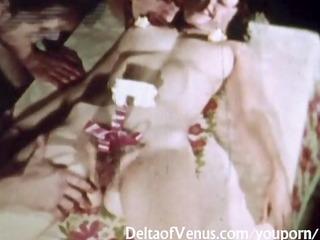 vintage porn 99113s - bushy cunt brunette hair sex