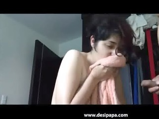 punjabi indian wife giving her stud a blow job