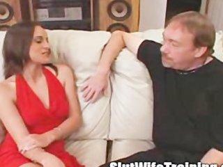voyeur husband sends wife to doxy training