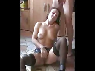 ejaculation in mamas face