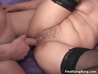 nasty brunette mother i blows stiff penis