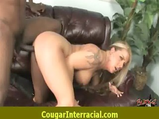 hawt cougar milf can to fuck darksome monster