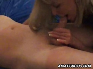 older dilettante housewife full oral stimulation