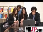 cute hawt japanese milfs receive drilled vid-80