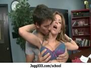 sexy pornstar with big milk sacks in milf porn -