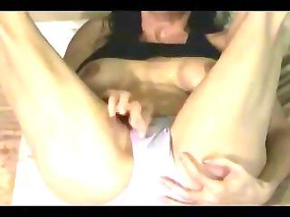 squirting wonda in purple panty - snc