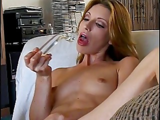 sweetheart using a dildo to get off