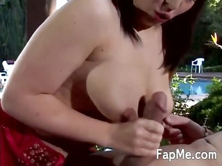 playgirl takes a penis in her hawt throat