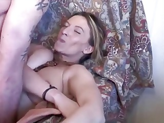 french floozy fucked on her granny bed