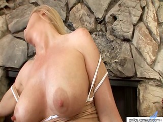 sexually excited mother i lotions up to masturbate