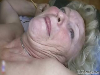 slutty old granny with biggest mambos loves part6