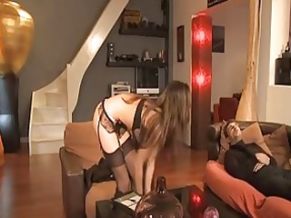 french maid lola bruna analised by her boss a72